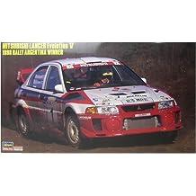 1/24 Lancer Evolution V 1998 rally # CR23 (japan import)