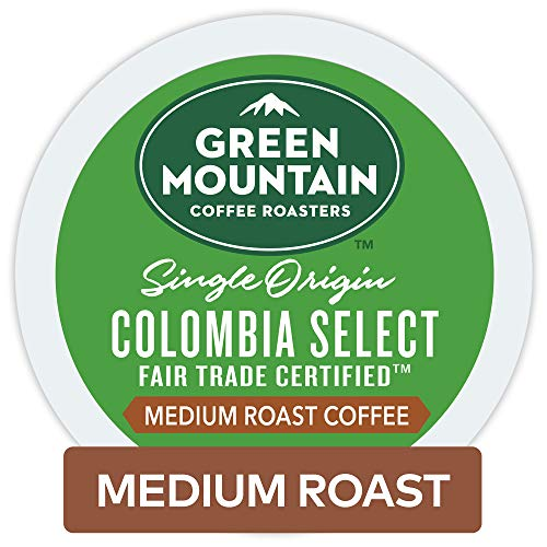 - Green Mountain Coffee Roasters Colombian Fair Trade Select Keurig Single-Serve K-Cup Pods, Medium Roast Coffee, 12 Count (Pack Of 6) ( Pack May Vary )