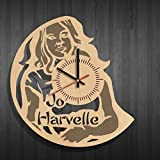 Wooden wall clock Jo Harvelle | Supernatural, Jo Harvelle | Supernatural wall poster, wall decoration with Jo Harvelle | Supernatural