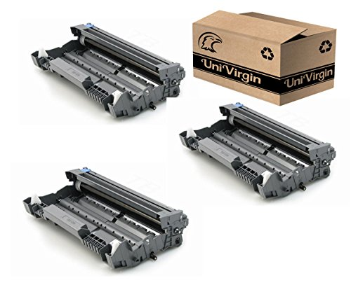 Univirgin Compatible DR520 DR620 Drum Unit Replacement for Brother DR-520 (DR520) & DR-620 (DR620) for use with TN550 TN580 TN620 TN650 Toner Cartridge - 25,000 high Yield, 3-Pack
