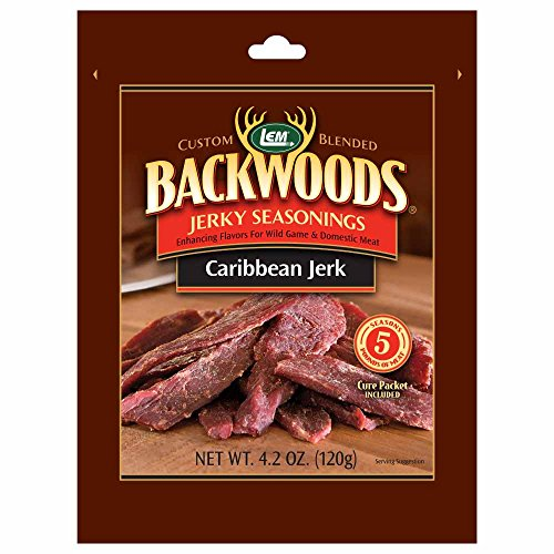 LEM Products 9147 Backwoods Caribbean Jerk Jerky Seasoning (5 Lb)