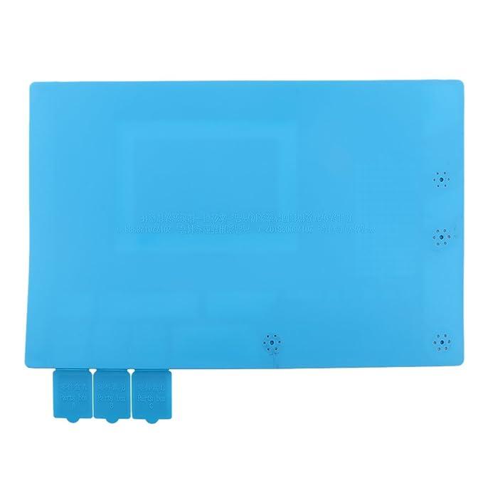 MagiDeal Aislamiento Térmico Magnético Silicona Reparación de Estera Resistente al Calor Manta de Mantenimiento - Azul oscuro: Amazon.es: Bricolaje y ...