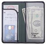 Extremely Thin Server Book Waitress Book Restaurant Waitstaff Organizer Check Presenter, Flexible Soft Slim 4.3'' X 8.5''