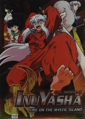 Inuyasha (Fire On The Mystic Island) Movie 4 (With Lenticular Bonus Card and Limited Edition Coin) by Viz