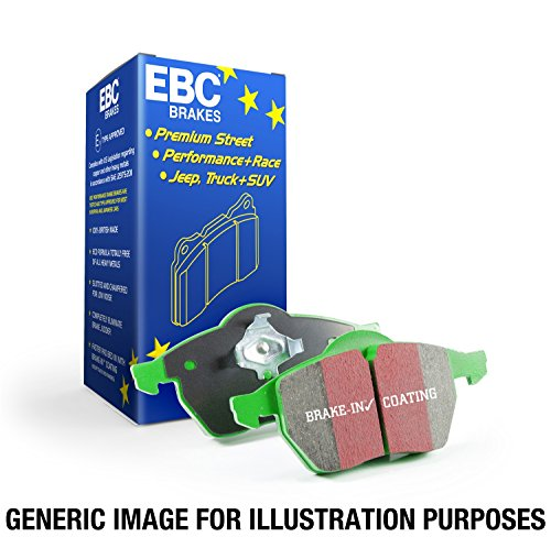 EBC Brakes DP61657 6000 Series Greenstuff Truck and SUV Brake Pad ()