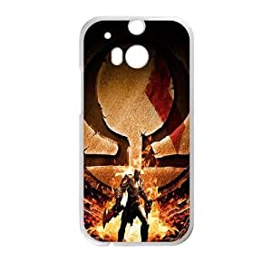 HTC One M8 phone case White god of war AADE3532623