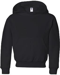 50//50 NuBlend Fleece Pullover Hood 996Y MAROON Jerzees Youth 8 oz.
