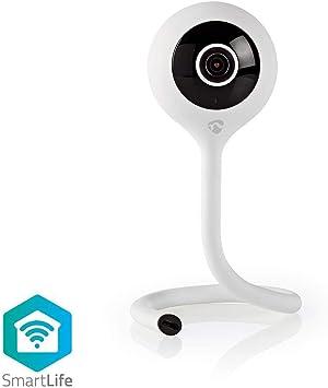Nedis Wlan Smart Ip Kamera Klimasensor Full Hd 1080p App Steuerung Klimasensor Umgebungstemperatur Und Luftfeuchtigkeit Baumarkt