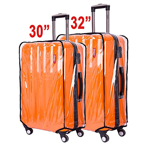 BlueCosto Clear Oversize Travel Luggage Protectors Suitcase Cover 30