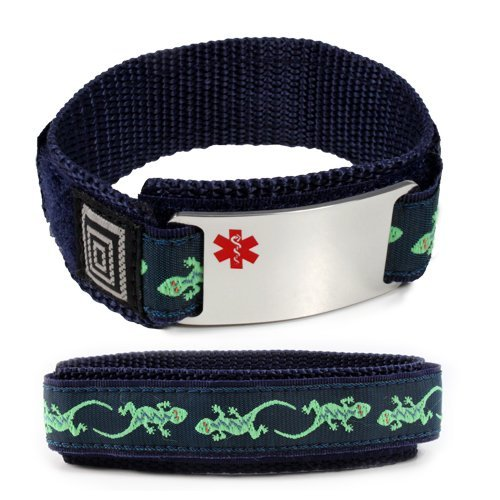 taking-plavix-medical-id-alert-bracelet-with-lizard-velcro-wrist-band-by-idtagsonline