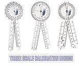 ASA Techmed 6pcs 360° 12/8/6 Inch Medical Spinal