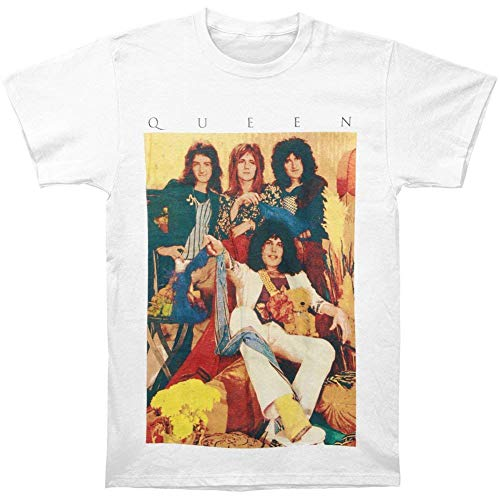 Queen Old School Band T-Shirt -XL White
