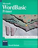 MS Wordbasic Macro Primer, Russell Borland, 1556153414