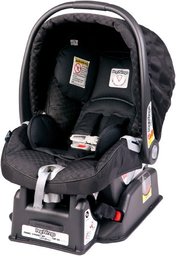 Amazon Peg Perego 2011 Primo Viaggio Infant Car Seat Pois Black Discontinued By Manufacturer Rear Facing Child Safety Seats Baby