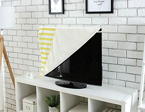 Jiahonghome Cord Cover for Wall Mounted tv Colorful Retro Gaming Computer Brick Blocks Image Puzzle Digital 90s Play Multicolor Cover Mounted tv W20 x H40 INCH/TV 40''-43'' by Jiahonghome (Image #3)