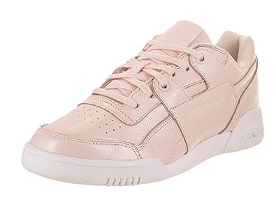 e66cae87fddc Reebok Women s W O Lo Plus Iridescent Walking Shoe Pale Pink White 6 M