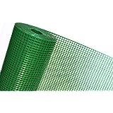OP08/100 en plastique pour clôture 1 m Grille de Protection pour petits animaux coupe-vent 6 mm x 9 mm vert