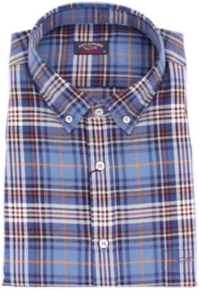PAUL & SHARK Luxury Fashion Hombre I16P3101BLUE Azul Camisa | Temporada Outlet: Amazon.es: Ropa y accesorios