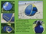 Pop up Beach tent, beach sun shelter UV 50+