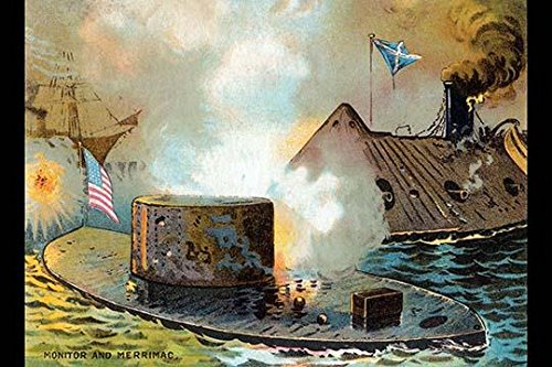 A Victorian tradecard for a dining room featuring oysters However the unrelated art on the face shows the great civil war naval battle between the two ironclad ships the Monitor and the Merrimac Post