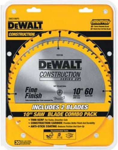 DeWalt 10-Inch Miter/Table Saw Blades