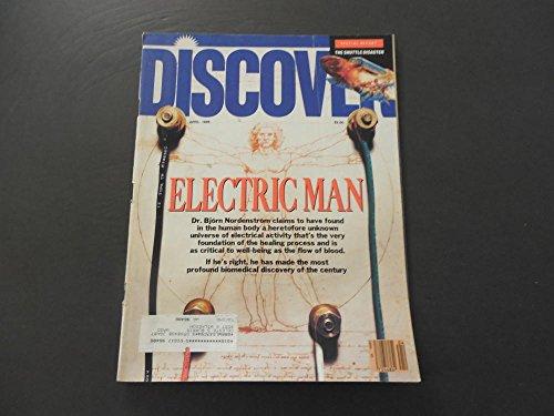 Discover Apr 1986 Biomedical Breakthroughs; Shuttle Go Boom