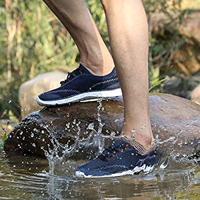 Alibress Men's Water Shoes Lightweight Quick Dry Aqua Beach Shoes | Water Shoes