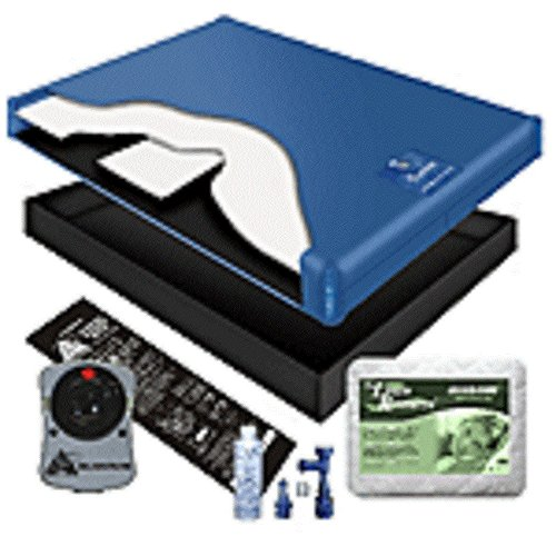 - 70% WAVELESS WATERBED MATTRESS/LINER/HEATER/PAD/FILL DRAIN/CONDITIONER KIT (California King 72x84 1G4B1)