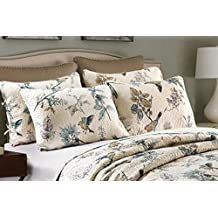 """Best Comforter Sets, Flying Birds Printing Cotton Quilted Bed Pillow Cases 2 Pieces 19"""" x 27"""""""