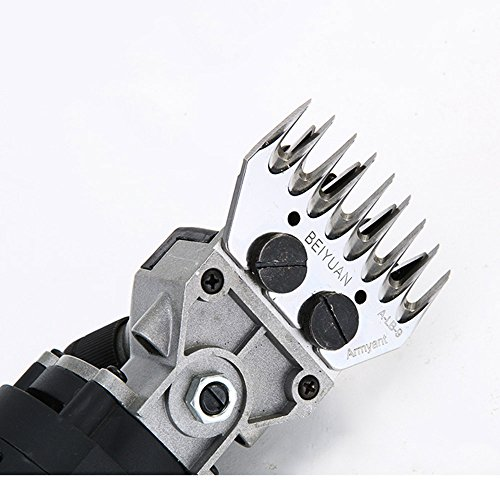 General 5 sets Sheep Clipper Blades Shearing Comb Electric Shears Replacement Comb and Cutter (13 tooth straight) by General (Image #7)