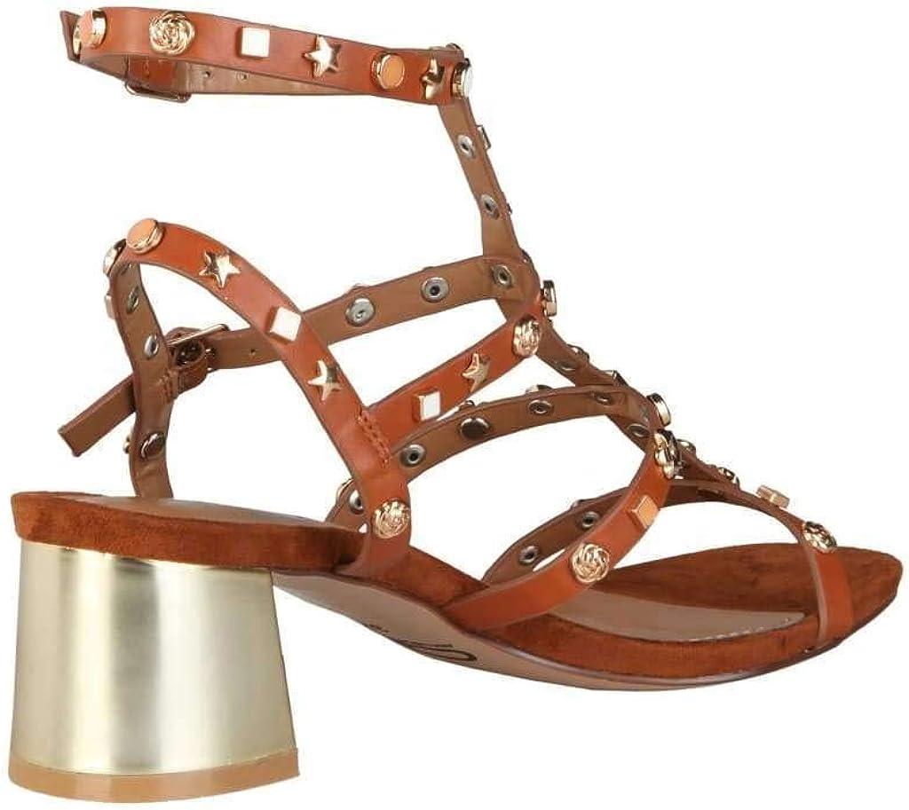 ANA LUBLIN Womens Sandals Telma/_Cuoio
