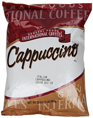 International Italian (General Foods Italian Cappuccino Instant Coffee Mix, 2 lb. pack, Pack of 6)