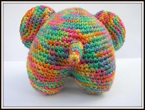 Cuddle Me Elephant crochet pattern   Gehaakte olifant patroon ...   380x500