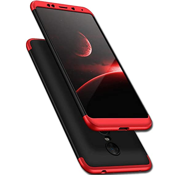 new arrival 397ee bba09 TheGiftKart Redmi Note 4 Back Case Cover: Full Body 3-In-1 Slim Fit  Complete 3D 360 Degree Protection Hybrid Hard Bumper