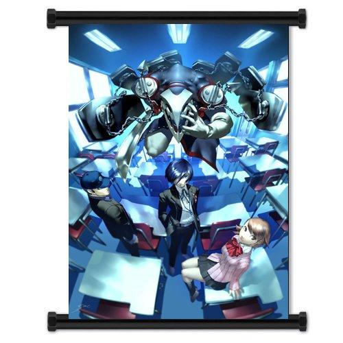 Shin Megami Tensei Persona 3 Game Fabric Wall Scroll Poster