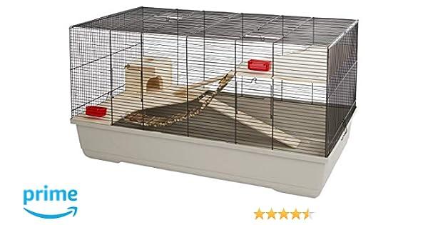 Jaula para animales pequeños Gabbia Hamster 102, beige, 100 x 53 x ...