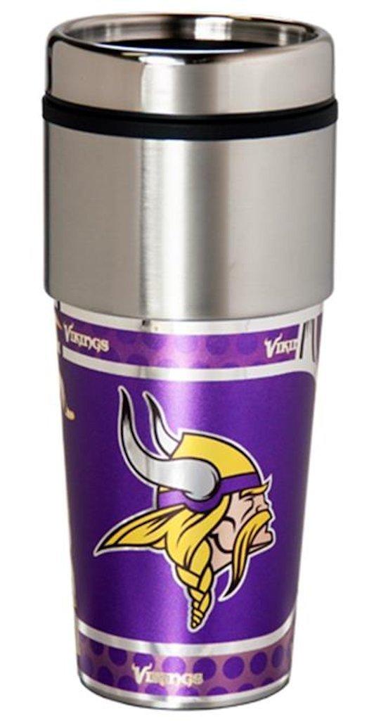 激安人気新品 BSI製品NFL Minnesota Vikingsステンレストラベルタンブラー One Size One Minnesota Size ブラック B01015IWIK, 北海道大自然の力熊笹本舗:377710cd --- movellplanejado.com.br
