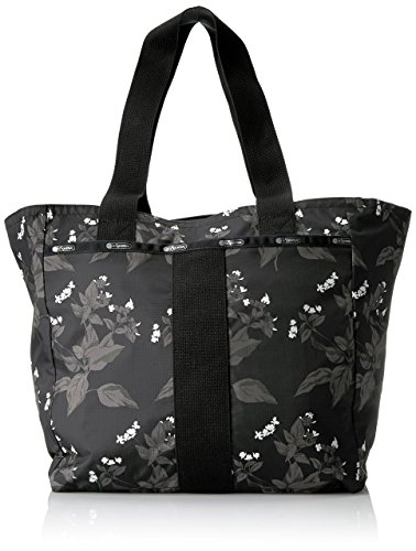 LeSportsac Essential Everyday Tote, Botanical Black