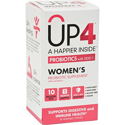 Up4 Probiotics - DDS1 Womens - 60 Vegetarian Capsules (Diarrhea Of A Wimpy Kid)