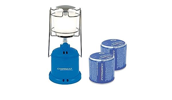 Campingaz Camping 206L lámpara de gas Bundle Incluye 2 x C206 ...