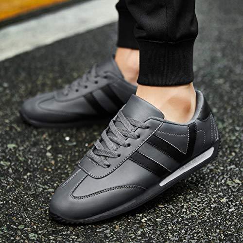 Hombres Zapatos Al De Vestir Resistentes Libre Antideslizantes Deportivos Correr Llamativo Desgaste Zapatillas Ligero Aire Color Los f0qxzwt5