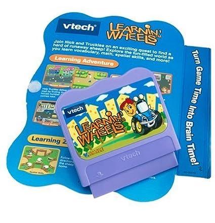 "Amazon.com: V Smile Juego Learning ""Ruedas: Toys & Games"