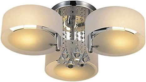 Ceiling RH Bedroom Crystal Light Room Dining Light Light Ceiling Mount Room 3 Flush Living Fixture RUIVAST Modern for Chandeliers Lamps and OZTPwXkuil