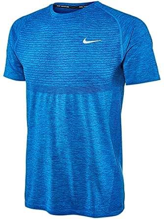Amazon.com: Nike Dri-FIT Knit Mens Running Short Sleeve