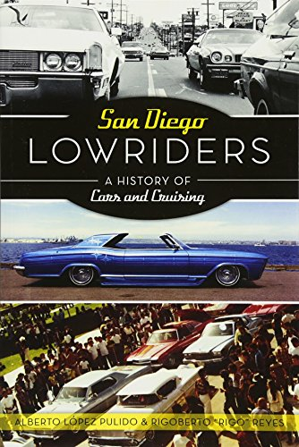 """San Diego's unique lowrider culture and community has a long history of """"low and slow."""" Cruising the streets from 1950 to 1985, twenty-eight lowrider car clubs made their marks in the San Diego neighborhoods of Logan Heights, Sherman Heights, Nationa..."""