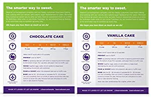 Swerve Sweets Cake Mix Bundle Chocolate And Vanilla Cake Mixes by Swerve