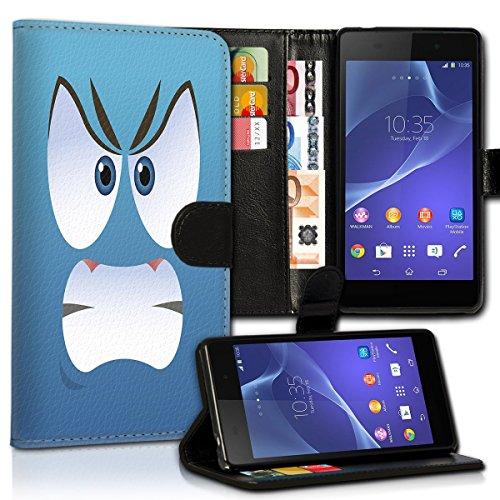Wallet Book Style Flip Handy Tasche Case Schutz Hülle Schale Motiv Etui für Apple iPhone 6 Plus / 6S Plus - Design Flip MVD201