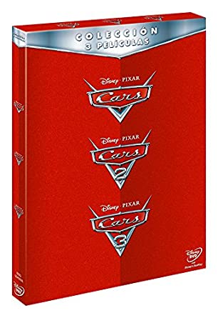 Pack: Cars 1 + Cars 2 + Cars 3 [DVD]: Amazon.es: Personajes ...