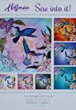 Hummingbird Lane~Pre-Cut Applique Kit~40'' x 40'' by Hoffman of CA