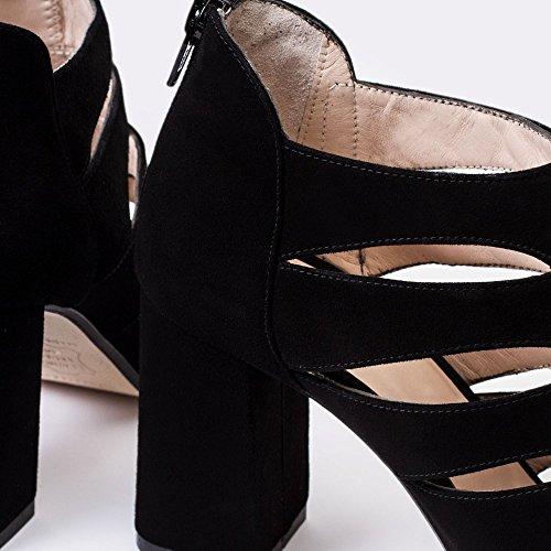 Noir Gennia Femme Gennia Pour Sandales Sandales Y1wfqX